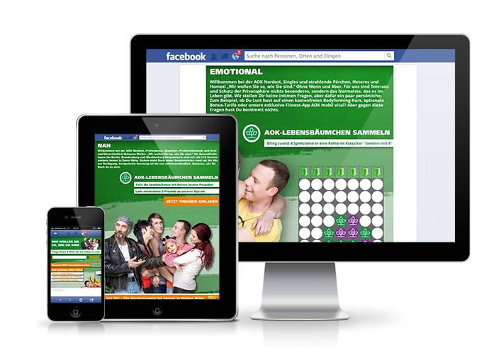 Responsive Design für Facebook Apps