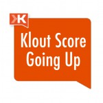 Klout Score Going Up