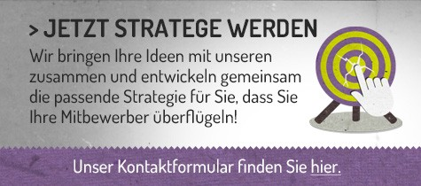 Abbildung Call to Action für Social Media Strategie Zusammenarbeit