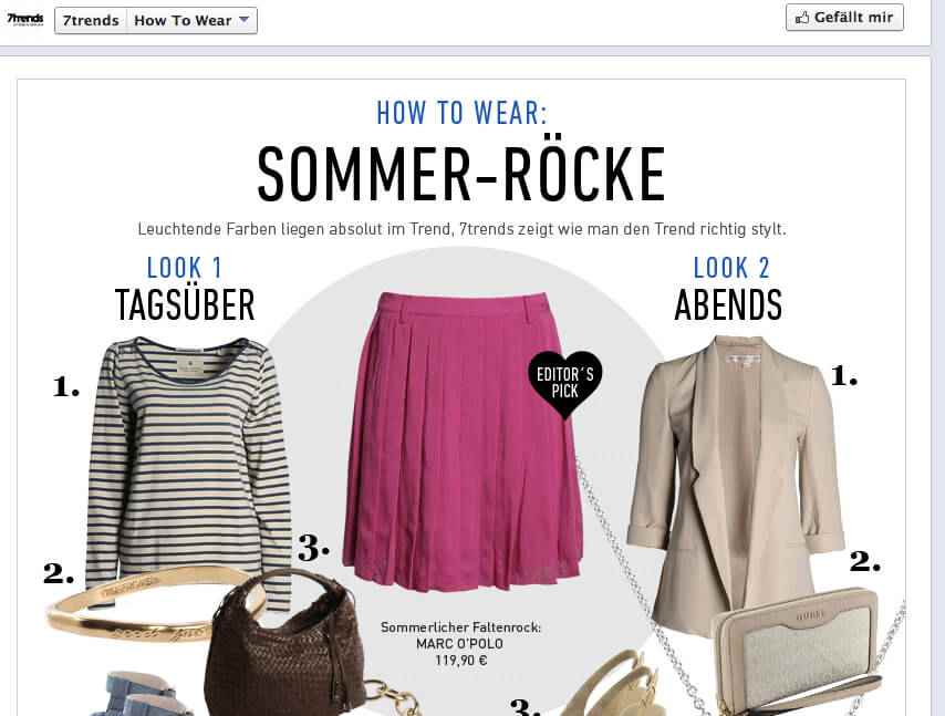 Ansicht Thementab 7trends how to wear