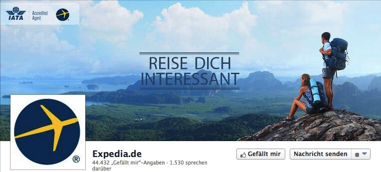expedia titelbild facebook