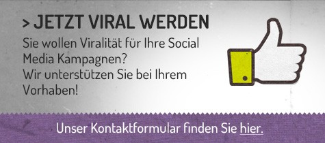Abbildung Call to Action für Virales Marketing Zusammenarbeit