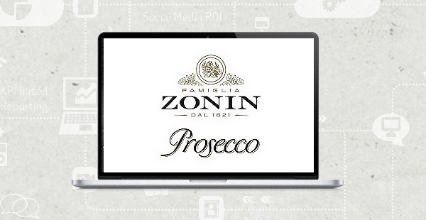 Social Media Marketing Beispiel ZONIN Prosecco