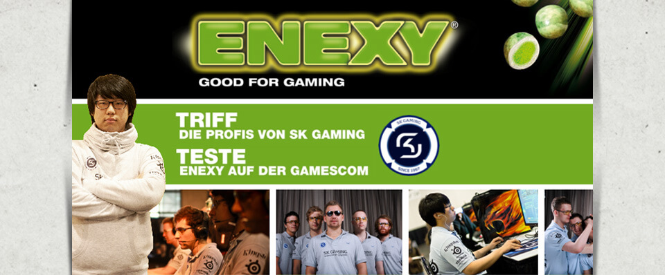 SK Gaming triff ENEXY