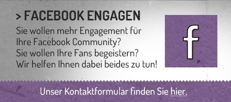 Abbildung Call to Action für Facebook Community Management Zusammenarbeit