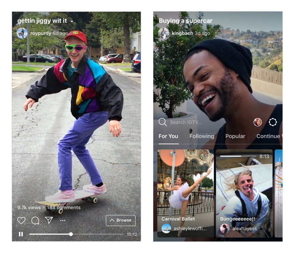 Instagram launcht IGTV – Konkurrenz für YouTube?